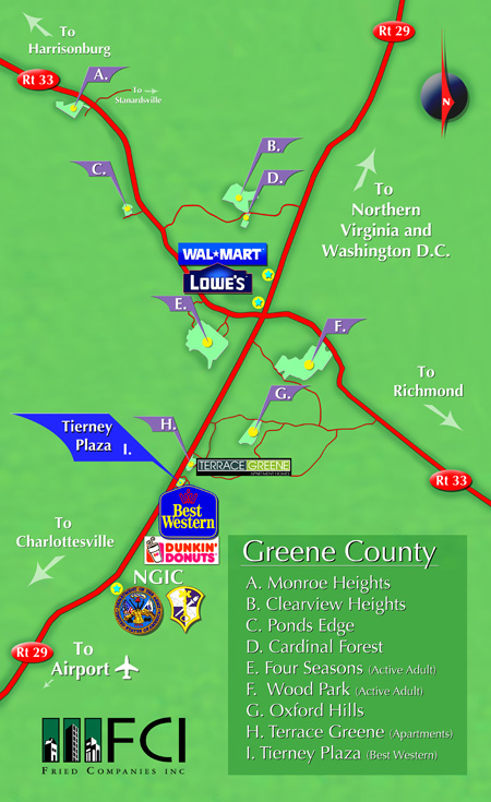 Greene County Vicinity
